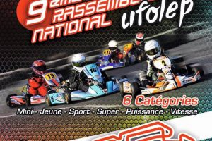 Affiche National Kart UFOLEP 2016