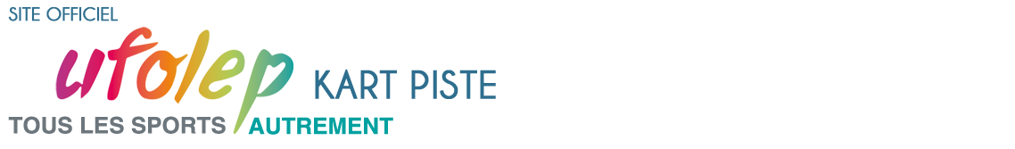 Ufolep Kart Piste logo
